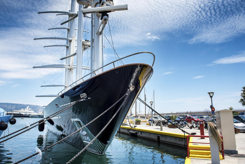 Luxury motor sail boat